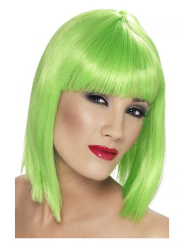 Glam Wig, Neon Green