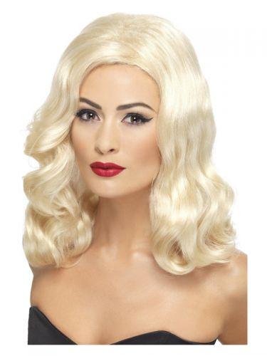 20s Luscious Long Wig, Blonde