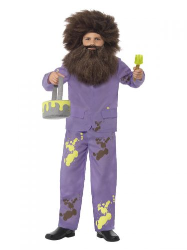 Roald Dahl Mr Twit Costume, Purple