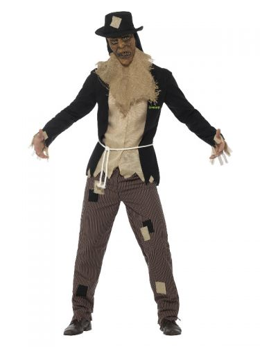 Goosebumps The Scarecrow Costume, Black