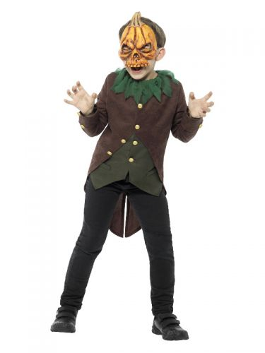 Goosebumps Jack-O'-Lantern Costume, Black & Orange