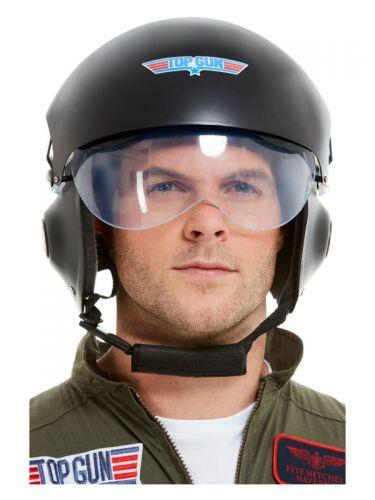 Top Gun Deluxe Helmet, Black