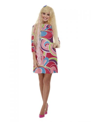 Totally Hair Barbie Costume, Pink