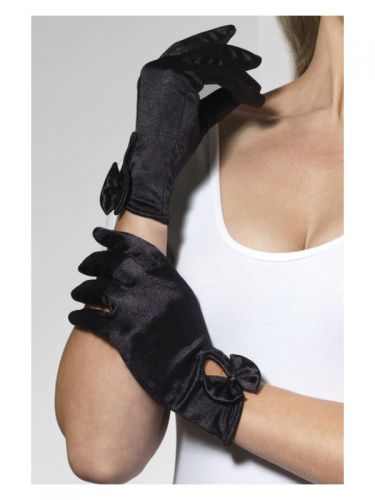 Gloves, Short, Black