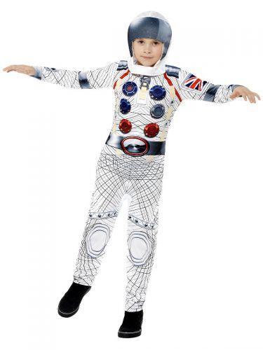 Deluxe Spaceman Costume, White