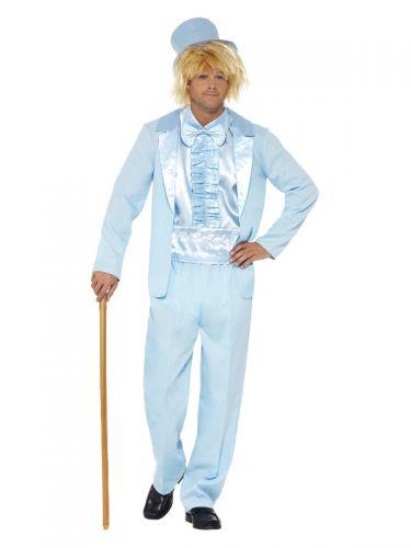 90s Stupid Tuxedo Costume, Blue