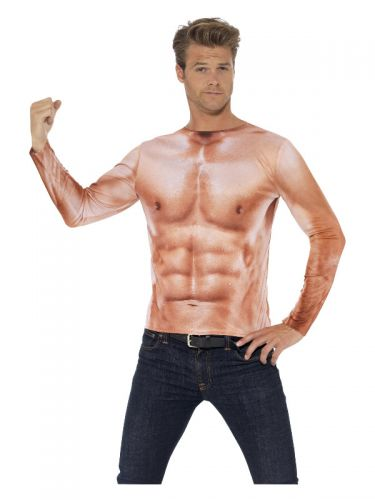 Realistic Muscle Top, Nude