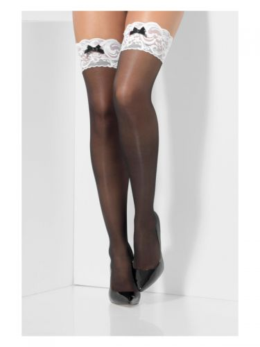 French Maid Hold-Ups, Black