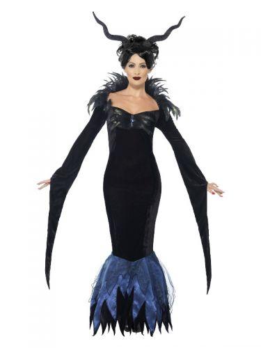 Lady Raven Costume, Black