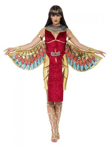 Egyptian Goddess Costume, Red