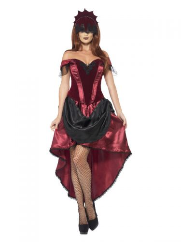 Venetian Temptress Costume, Red