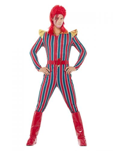 Space Superstar Costume, Multi-Coloured