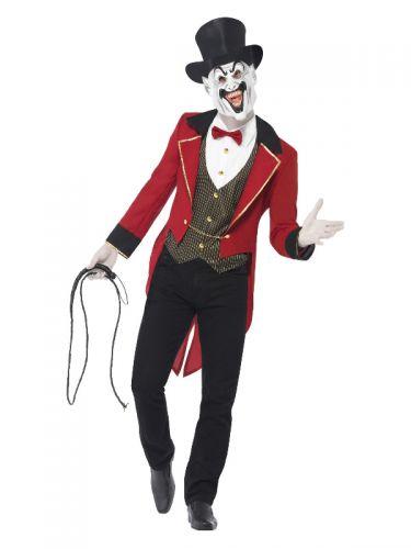 Sinister Ringmaster Costume, Red