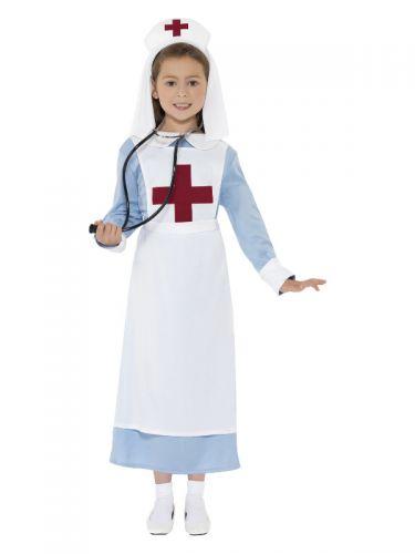 WW1 Nurse Costume, Blue