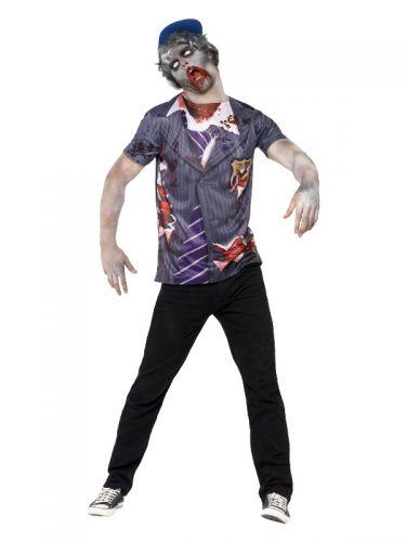 Zombie School Boy, Grey
