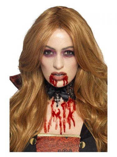 Smiffys Make-Up FX, Gel Blood, Red
