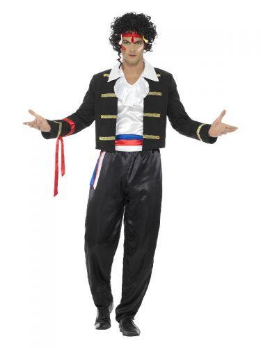 80s New Romantic Costume, Black