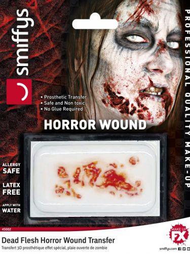 Horror Wound Transfer, Dead Flesh, Red