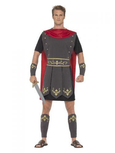 Roman Gladiator Costume, Black