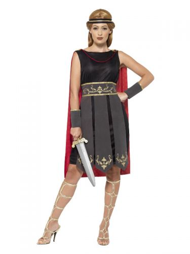 Roman Warrior Costume, Black