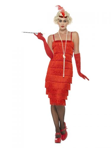 Flapper Costume, Red