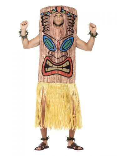 Tiki Totem Costume, Brown