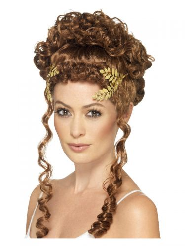 Laurel Leaf Headpiece, Gold