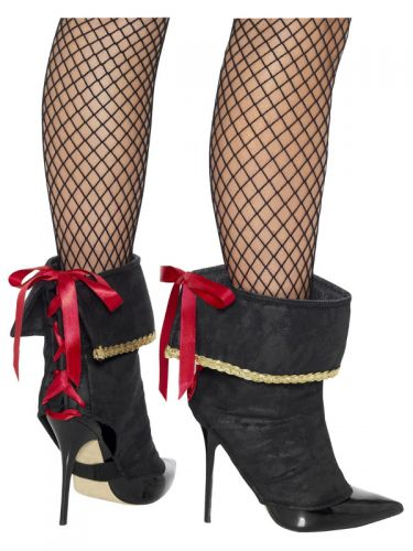 Pirate Boot Covers, Black