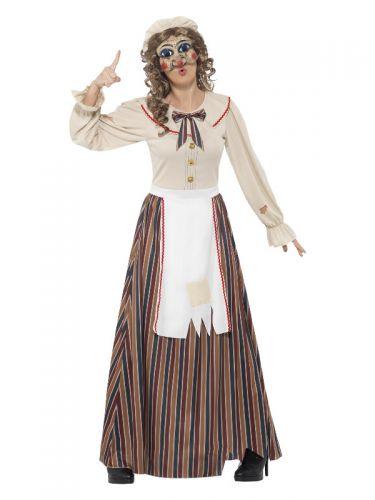 Possessed Judy Costume, Multi-Coloured