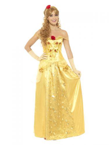 Golden Princess Costume, Gold