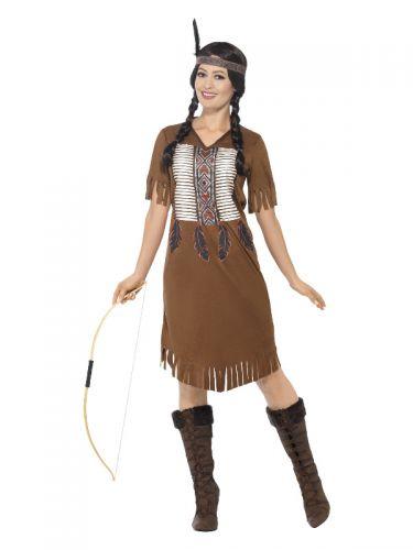 Native American Inspired Warrior Princess Costume,