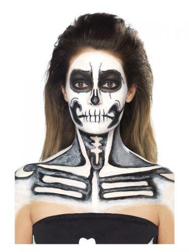 Smiffys Make-Up FX, Skeleton Liquid Latex Kit,