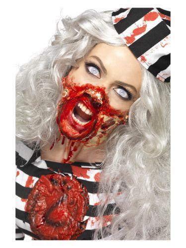 Smiffys Make-Up FX, Zombie Liquid Latex Kit, Assor