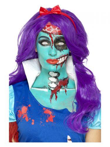 Smiffys Make-Up FX, Turquoise Liquid Latex Kit, Tu