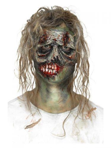 Smiffys Make-Up FX, Foam Latex Zombie, Green