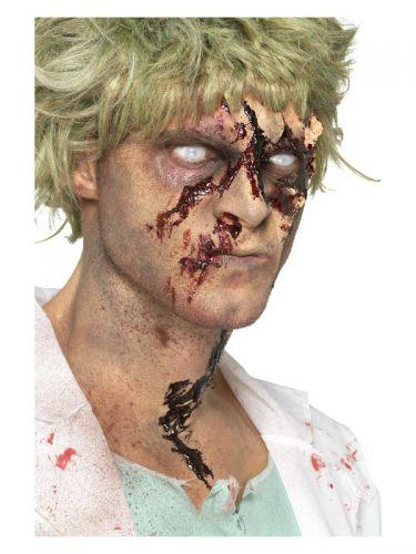 Smiffys Make-Up FX, Zombie Dirt Stain Powder, Brow