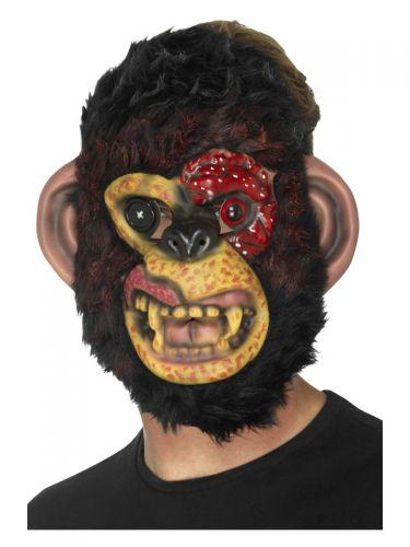 Zombie Chimp Mask, Black