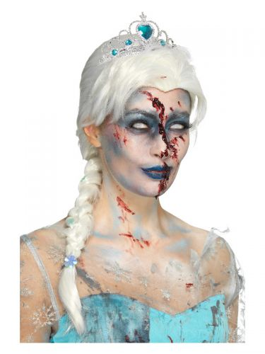 Zombie Froze To Death Wig, White