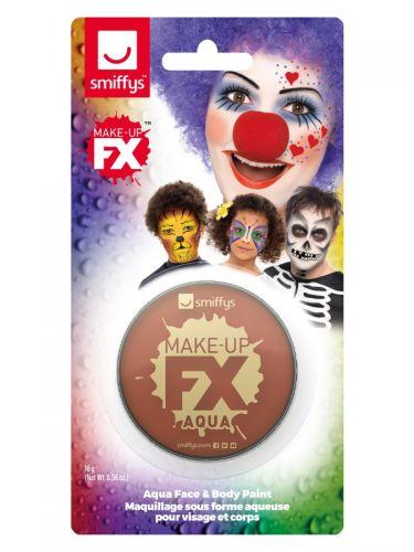 Smiffys Make-Up FX, on Display Card, Light Brown
