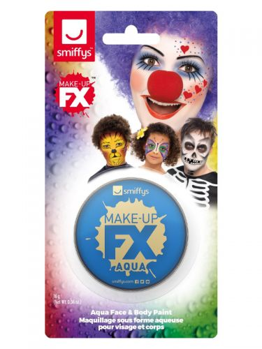 Smiffys Make-Up FX, on Display Card, Royal Blue