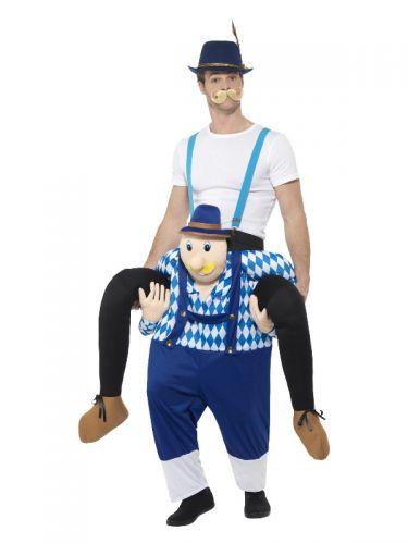 Piggyback Bavarian Costume, Blue