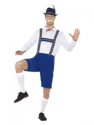 Bavarian Costume, Blue