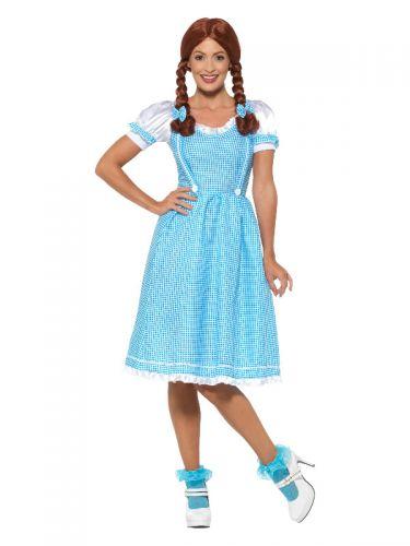 Kansas Country Girl Costume, Blue & White