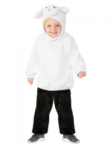 Toddler Lamb Costume, White