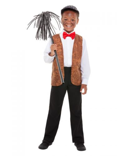 Chimney Sweep Kit, Brown