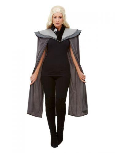 Ladies Medieval Cape, Grey