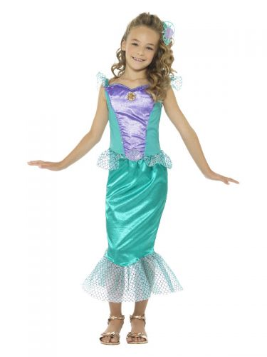 Deluxe Mermaid Costume, Green