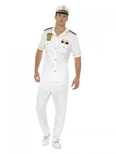Captain Costume, White