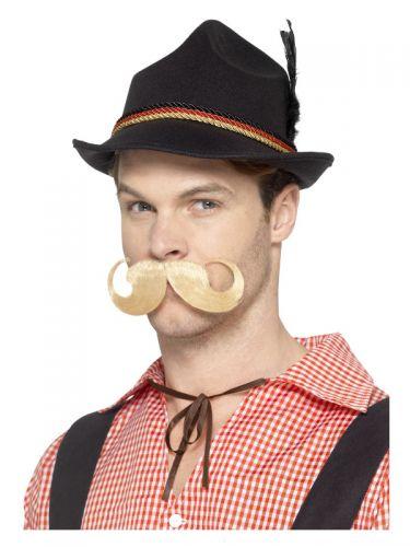 Deluxe German Trenker Hat, Black