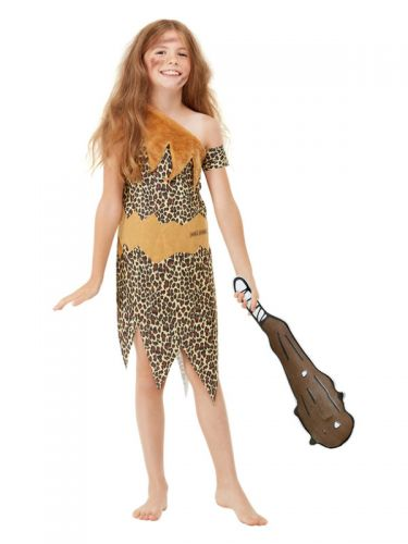 Horrible Histories Cave Costume, Brown